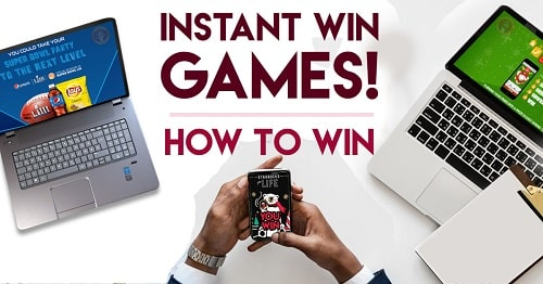 how to instant win games online